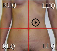 patient torso with stethoscope at aortic position