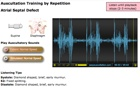 Auscultation Training by Repetition